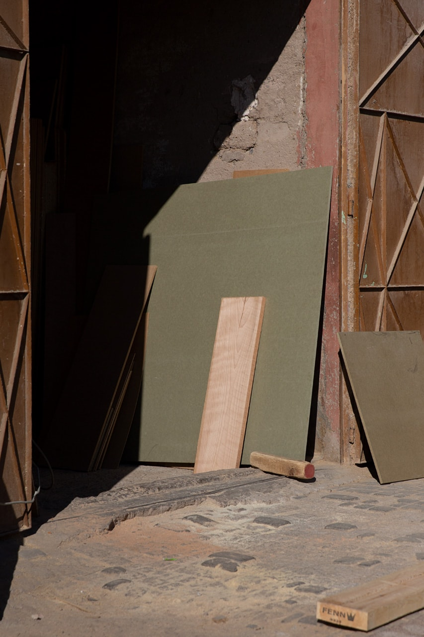 Julian Mullan, Morocco, Joinery
