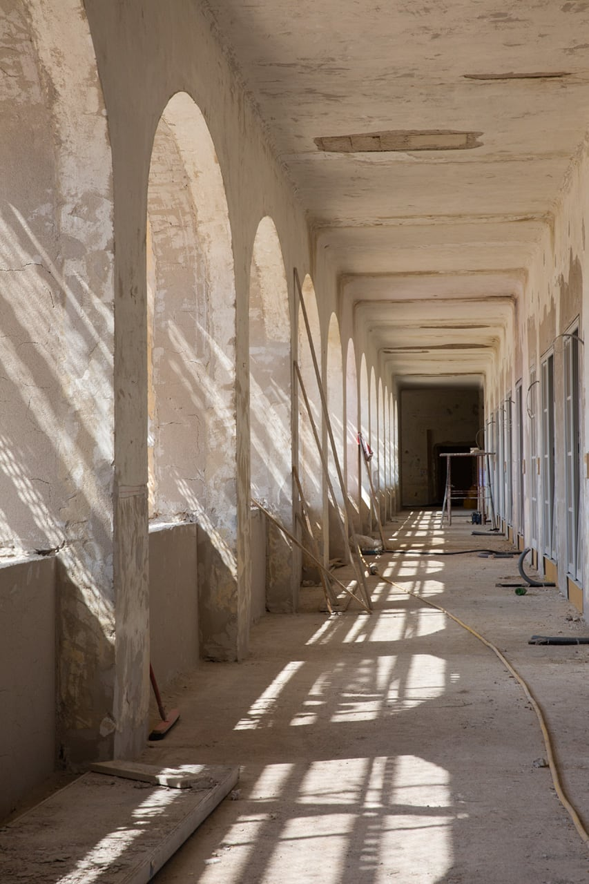 Julian Mullan, Renovation of Schloss Neusiedl for U.M.A. Architrects, Corridor
